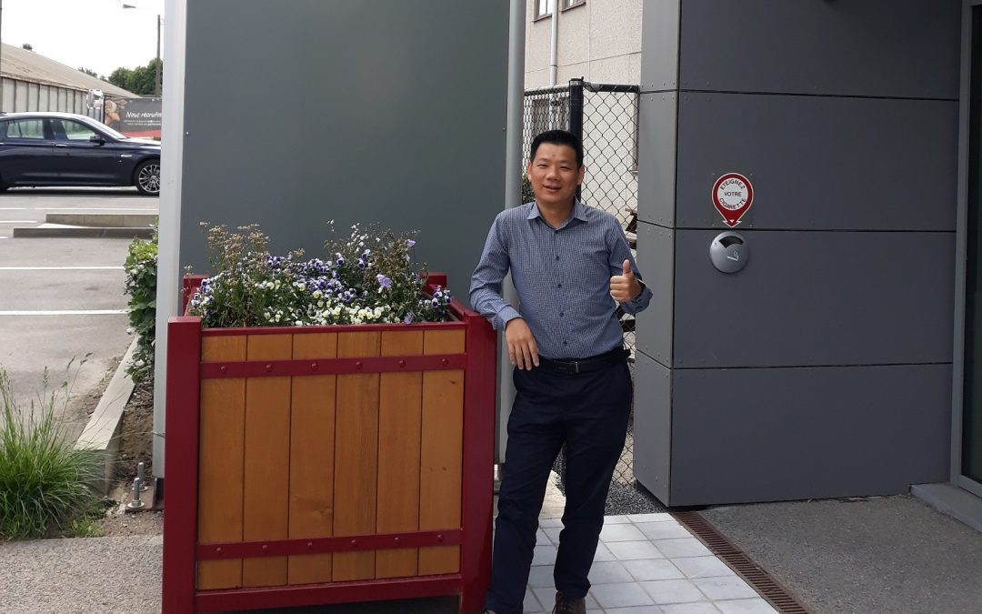 Welcome to our Business Development Manager of the Asia Pacific Area